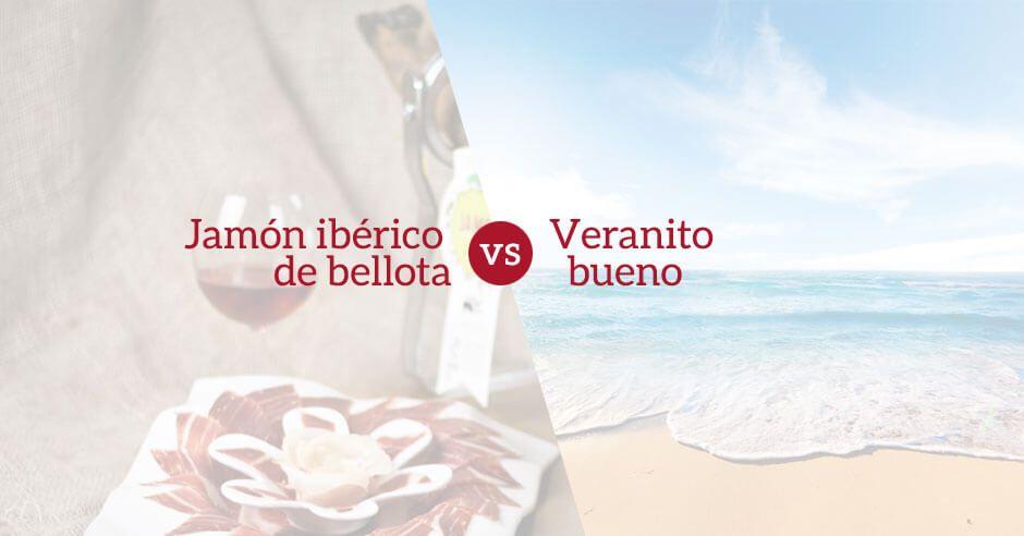 Jamón Ibérico de Bellota vs el verano