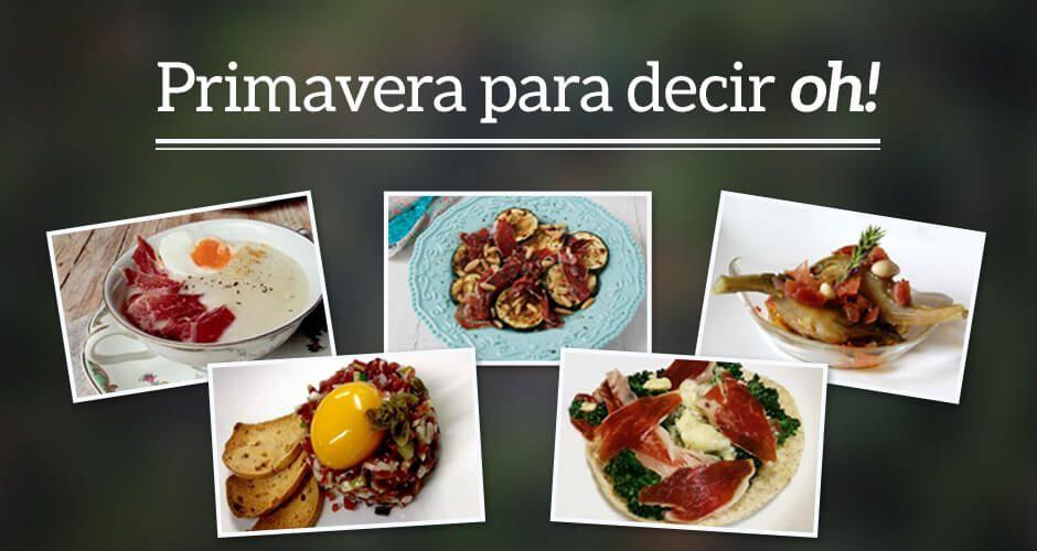 Cinco recetas primaverales para disfrutar del mejor ibérico