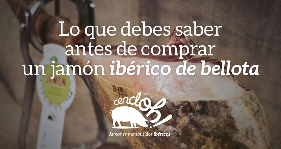 Cinco cosas que debes saber antes de comprar un buen Ibérico de Bellota.
