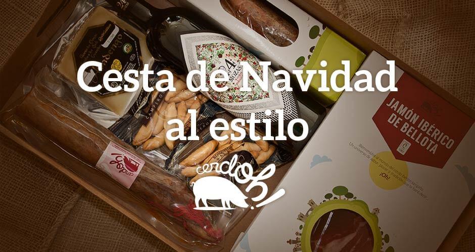 """Cesta cositas ricas de Cerdoh!, el """"must have"""" de estas Navidades"""