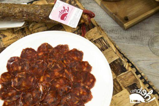 Chorizo de ibérico de bellota de Cerdoh! en formato cular