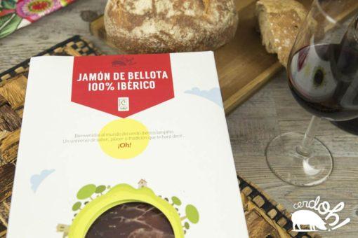 Caja de sobres de Jamón de Bellota 100% Ibérico de Cerdoh!