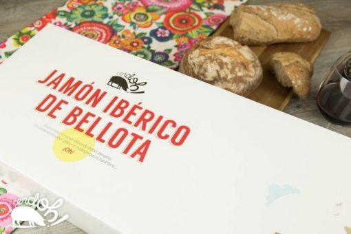 Caja de Jamón de Bellota 100% Ibérico de Cerdoh!