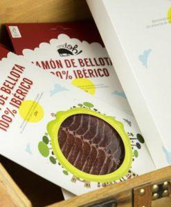 Pack de sobres de Jamón de Bellota 100% Ibérico de Cerdoh!