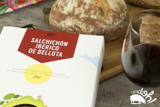 Pack de Salchichón Ibérico de Bellota loncheado de Cerdoh!