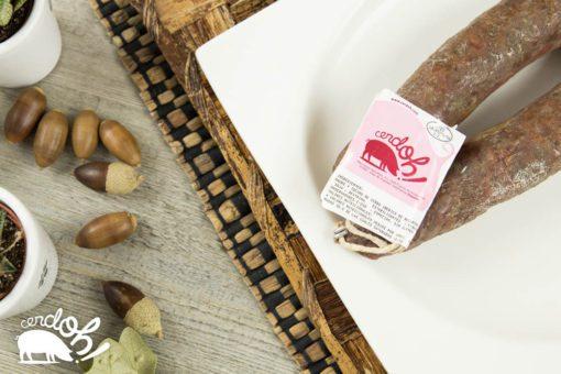 Salchichón ibérico de bellota de Cerdoh! en formato herradura