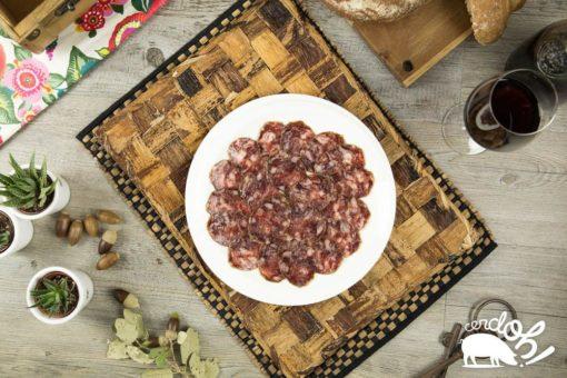 Plato de salchichón ibérico de bellota de Cerdoh!